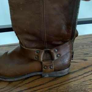 Frye boots. Classic! Go with everything!